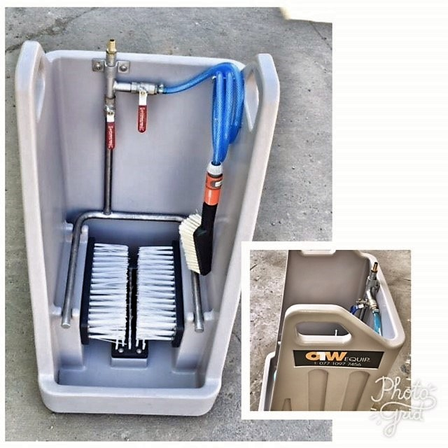 Mobile boot washer now stocked at Vesgro!